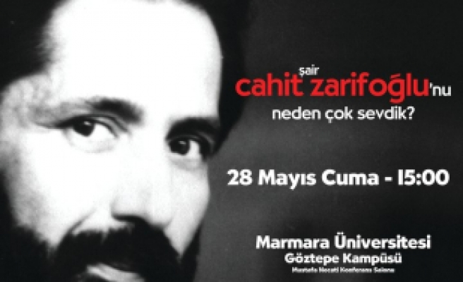 Marmaralılar Zarifoğlu'nu anıyor!