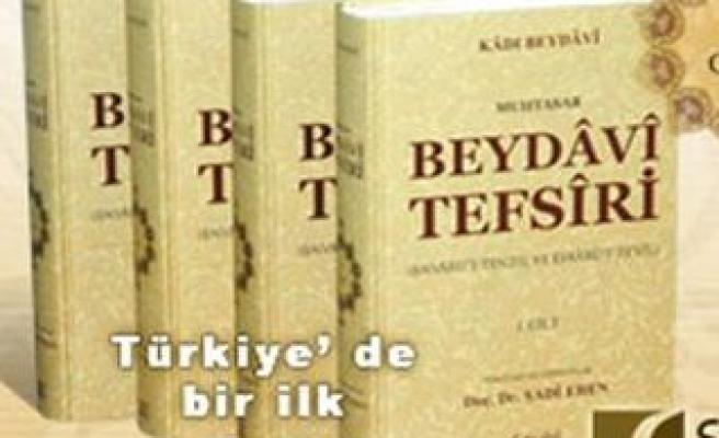 Bir tefsir klasiği Türkçe'de!