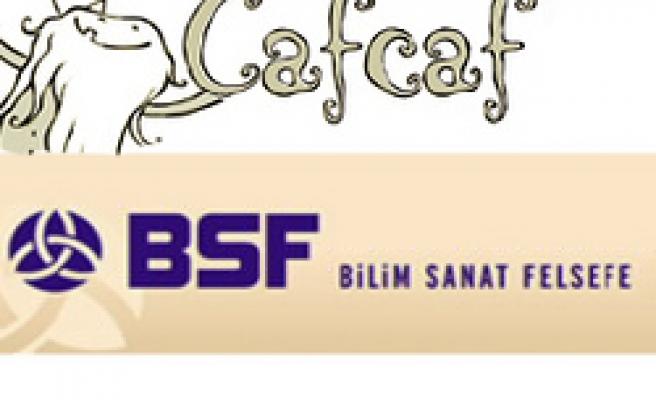 Cafcaflı söyleşi BSF'de!