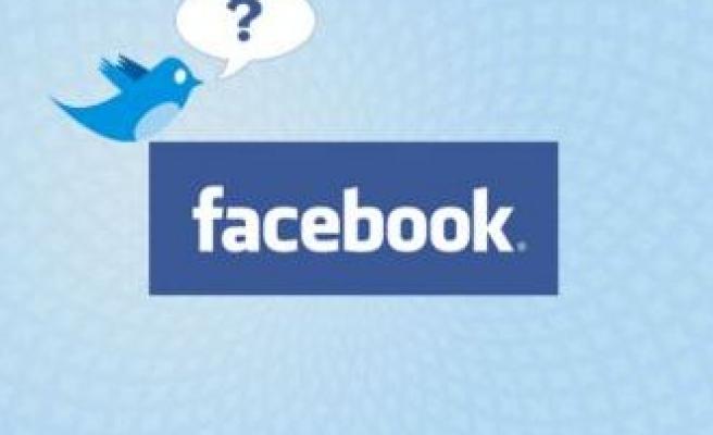 Facebook, twitterla göster!