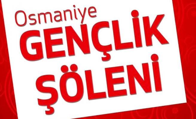 Osmaniye'de Genç'lik şöleni!