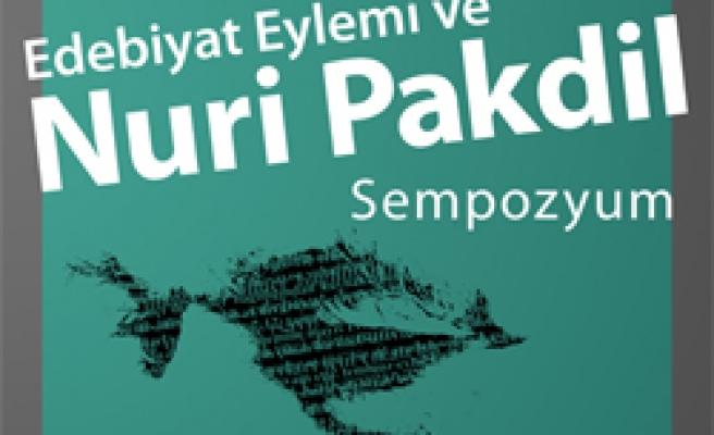 Ankara'da Nuri Pakdil Sempozyumu!