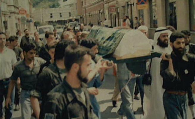 Şehid Selami Yurdan'ın kabrindeydik
