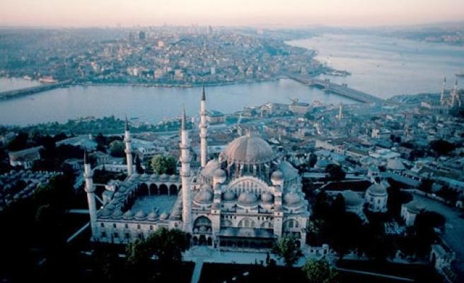 Bir efsanedir Süleymaniye Camii