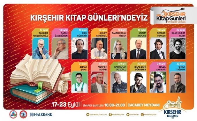 3. Kırşehir Kitap Günleri başlıyor