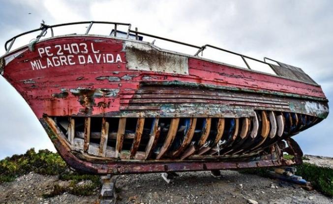Gemi enkazları sergisi açıldı
