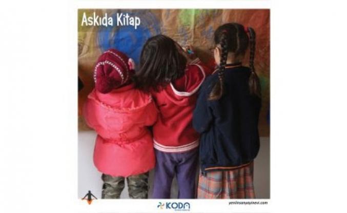 Köy okullarında askıda kitap kampanyası!
