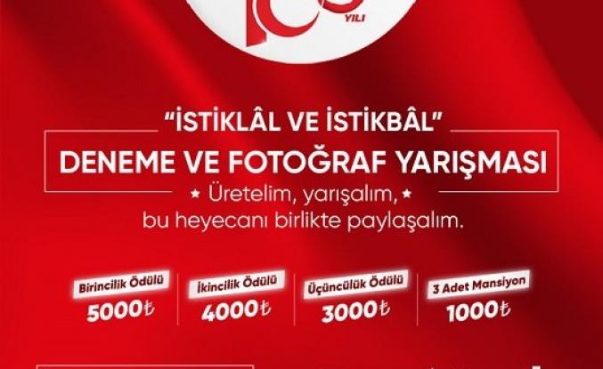 İstiklâl Marşı'nın kabulünün 100. yılı anısına deneme ve fotoğraf yarışması