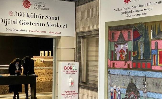 Nakkaş Osman Surnâme-i Hümayun dijital minyatür sergisi