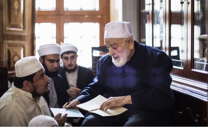 Fatih Camii'nin son dersiâmı: Muhammed Emin Saraç Hocaefendi