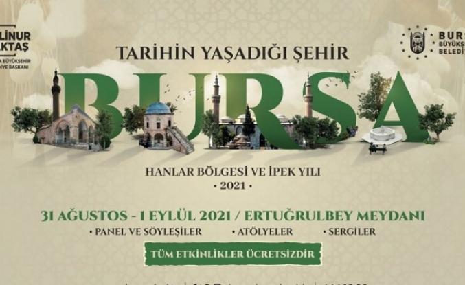 Bursa'da 7 asırlık hanlarda zamanda yolculuk