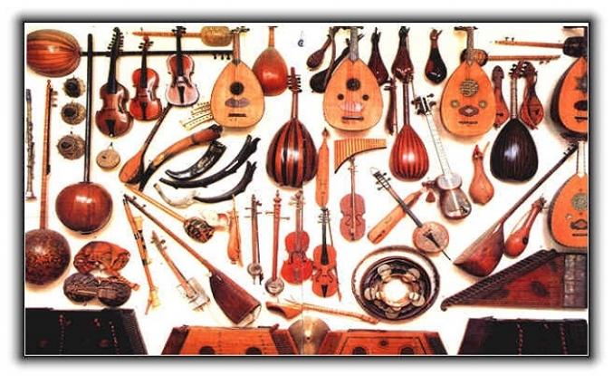 Klasik Türk musikisinin ana sazları nelerdir?