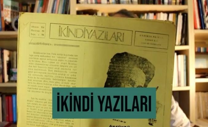 Anadolu'nun bağrında derin ve duyarlı bir edebiyat nefesi: İkindi Yazıları
