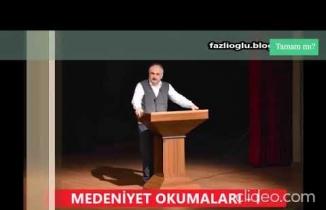İhsan Fazlıoğlu Hocadan sağlam bir Temel fıkrası