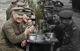 1.Dünya Savaşı'nın artık renkli bir belgeseli var